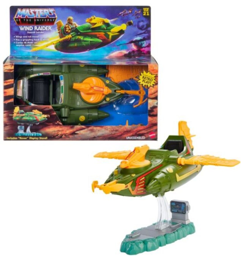 Masters Of The Universe - Mattel Collectible - Masters of the Universe Origins Windraider Vehicle (He-Man, MOTU)