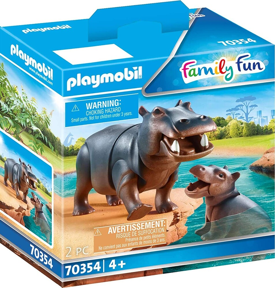 - Family Fun Hippo With Calf (Fig)