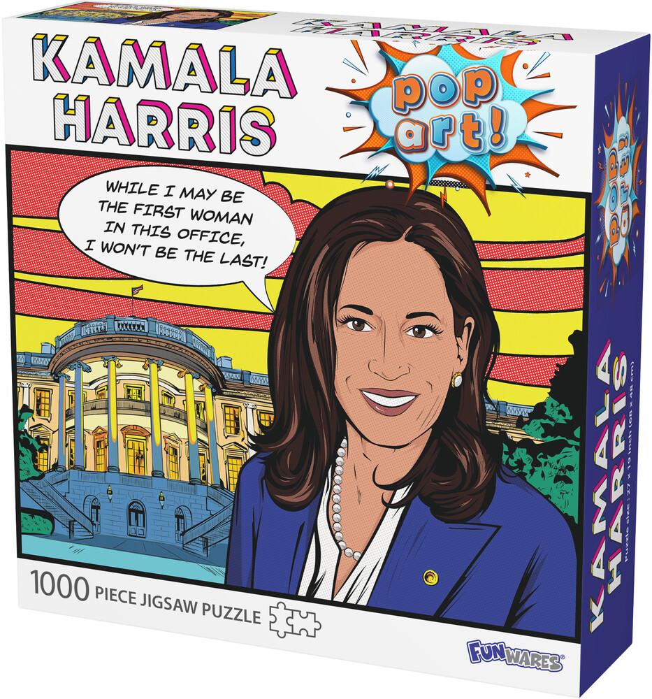 - Funwares Kamala Harris Pop Art Puzzle (Puzz)