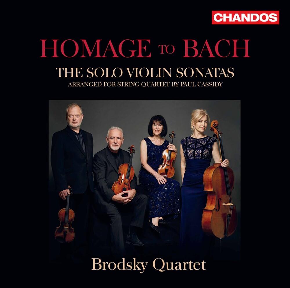 J Bach .S. / Brodsky Quartet - Homage To Bach