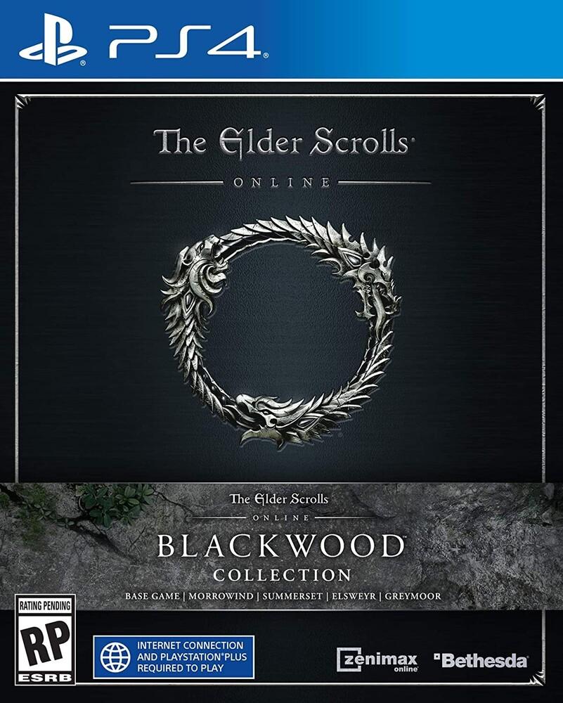 Ps4 Elder Scrolls Online: Blackwood - Ps4 Elder Scrolls Online: Blackwood