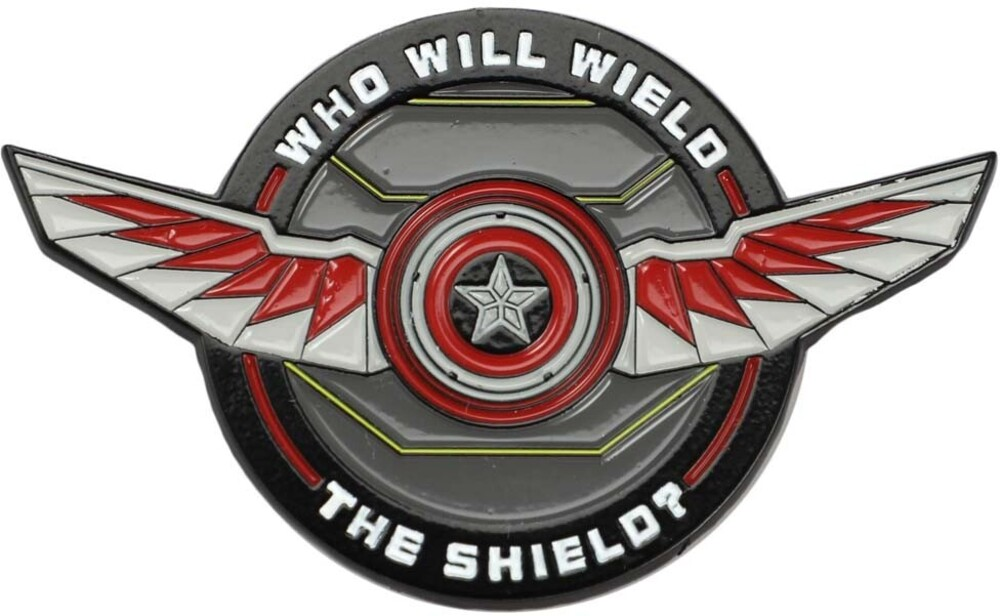 - Marvel Falcon And Winter Soldier Lapel Pin (Mult)