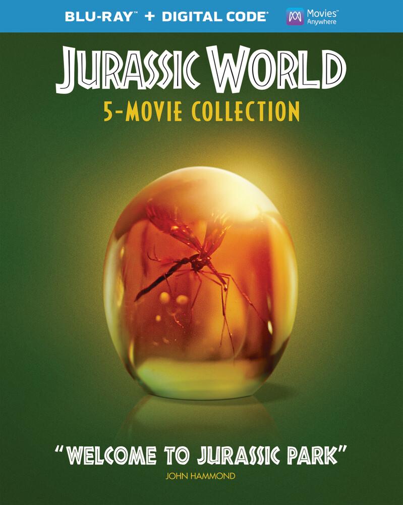 - Jurassic World 5-Movie Collection (5pc) / (Box)