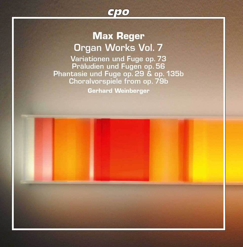 Reger / Weinberger - Organ Works 7 (Hybr) (2pk)