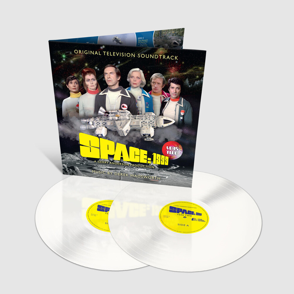 Barry Gray - Space 1999: Year Two (Original Soundtrack) (White Vinyl)