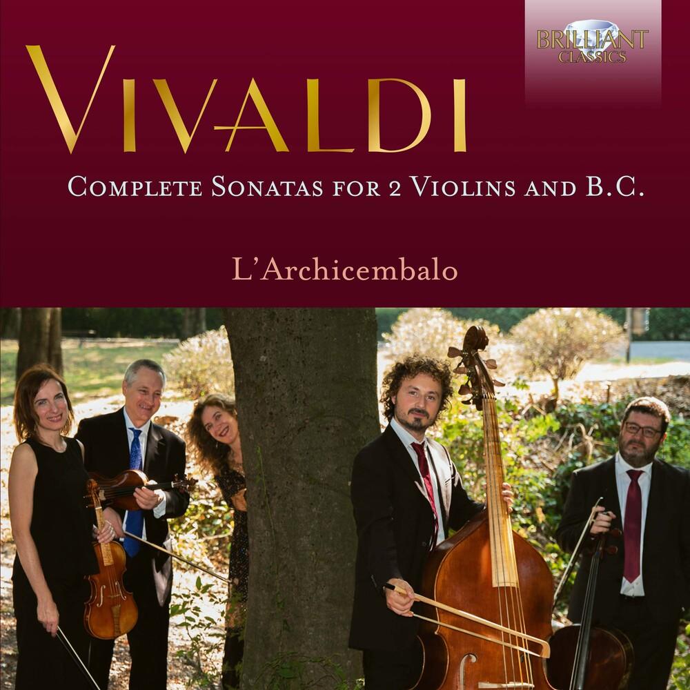 Vivaldi / L'archicembalo - Complete Sonatas For 2 Violins (3pk)