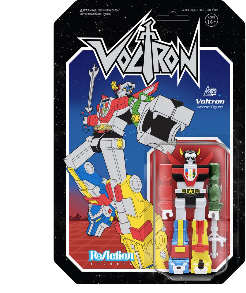 Voltron Reaction Figure - Voltron (Metallic) - Voltron Reaction Figure - Voltron (Metallic) (Fig)