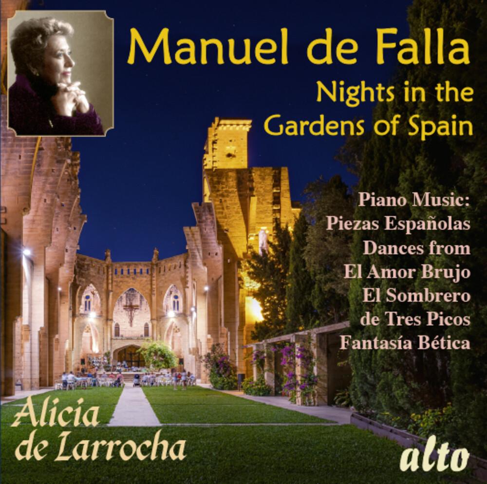 De Alicia Larrocha  / Orquesta De Conciertos Madrid - Falla: Nights In The Gardens Of Spain & Piano