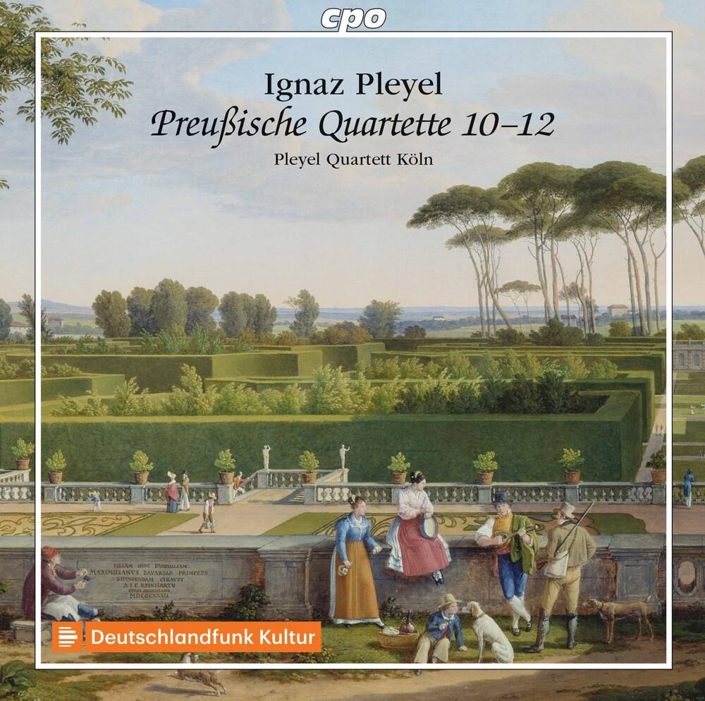 Pleyel - Preusische Quartette 10-12