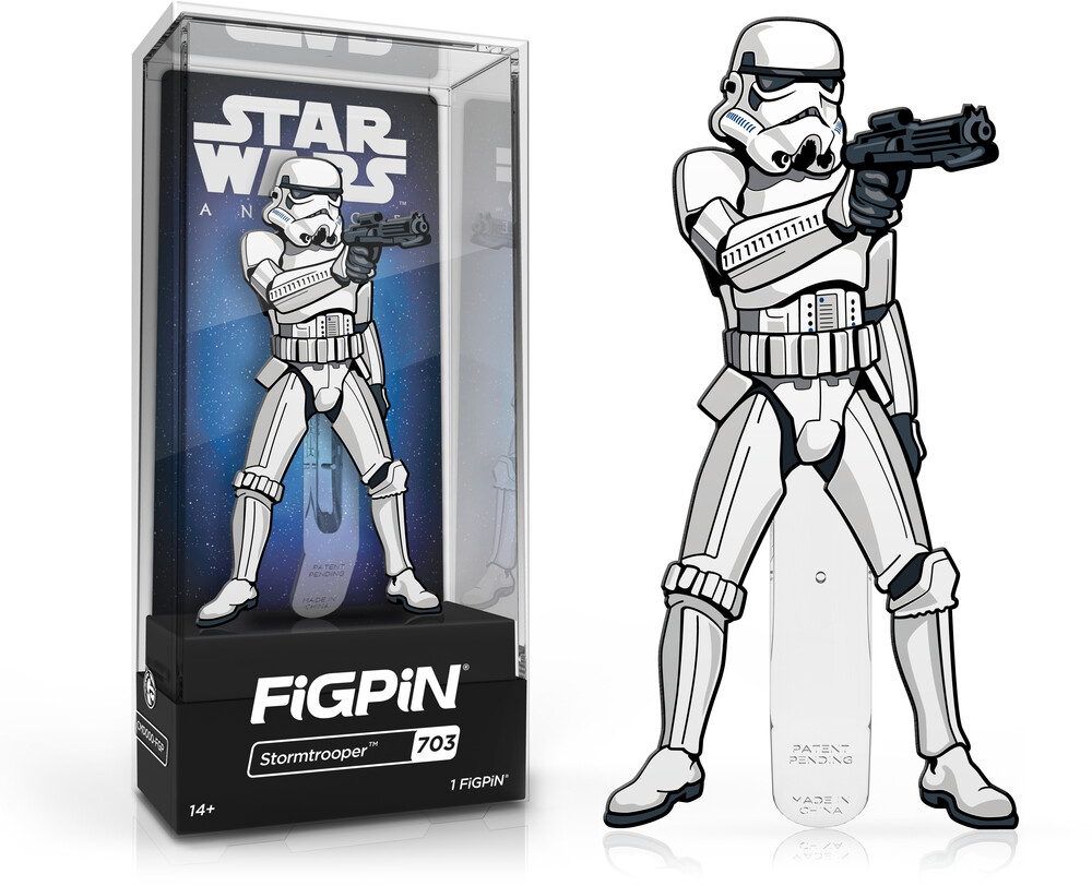 Figpin Star Wars a New Hope Stormtrooper #703 - Figpin Star Wars A New Hope Stormtrooper #703