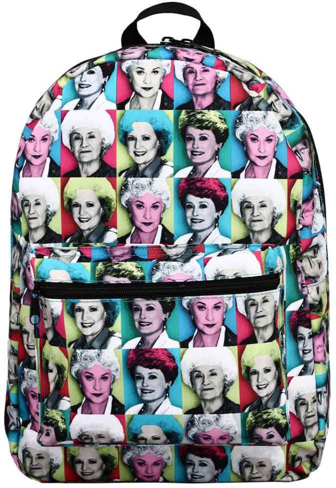 Golden Girls Character Tile Aop Backpack - Golden Girls Character Tile Aop Backpack (Back)