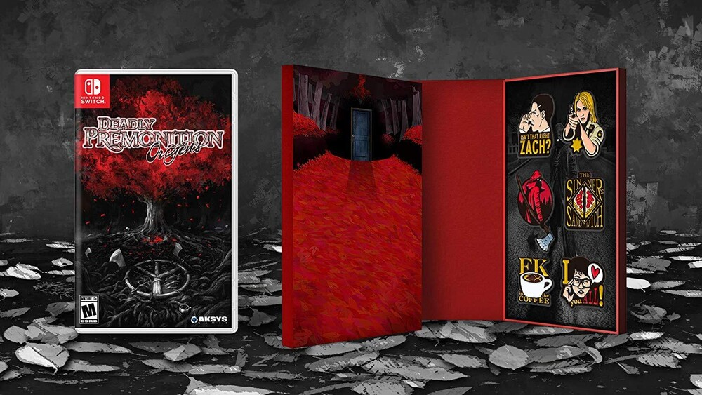 - Deadly Premonitions Origins Collector's Edition for Nintendo Switch
