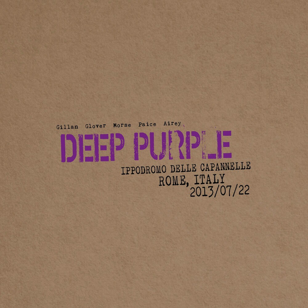 Deep Purple - Live In Rome 2013 [Limited Edition]