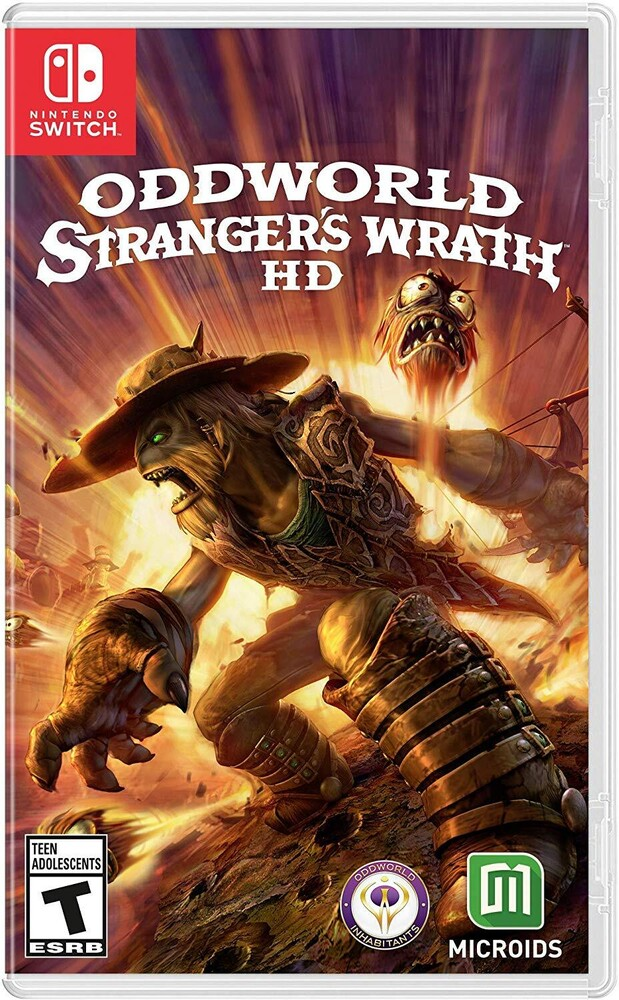 Swi Oddworld: Stranger's Wrath - Oddworld: Stranger's Wrath for Nintendo Switch