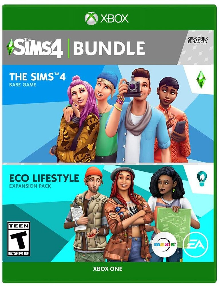 Xb1 Sims 4 Eco Lifestyle Bundle - Sims 4 Eco Lifestyle Bundle