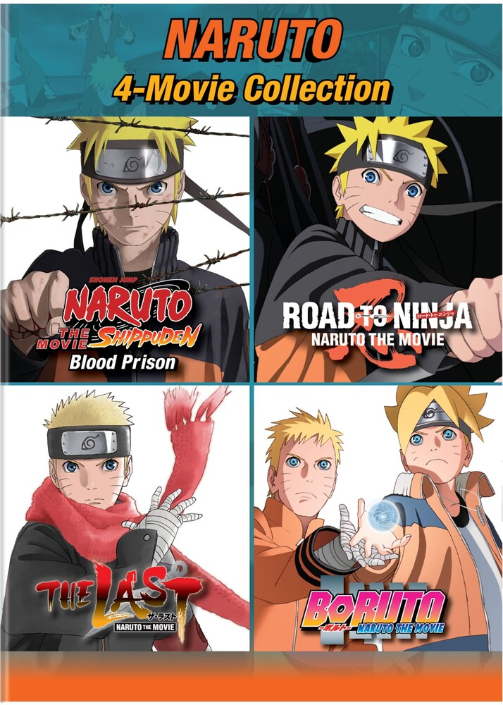 - Naruto: 4-Movie Collection / (Box)