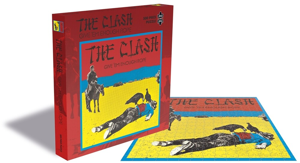 - Clash Give Em Enough Rope (500 Piece Jigsaw Puzzle)