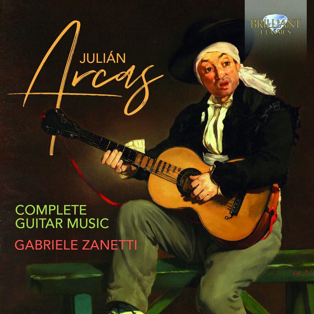 Arcas / Zanetti / Tampalini - Complete Guitar Music (Box) (4pk)