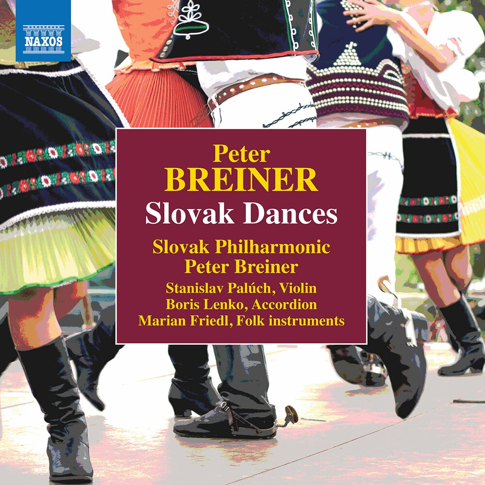 Slovak Philharmonic Orchestra - Slovak Dances (2pk)