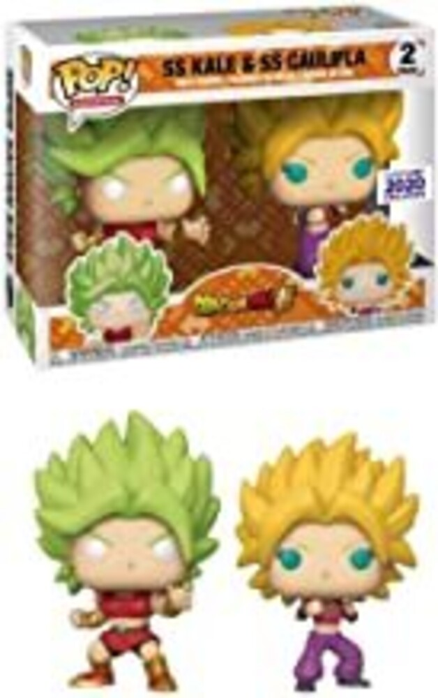 - Funko - Dragonball Z - Kale & Kaulifla Funimation Exclusive Pop Vinyl Figure 2pk