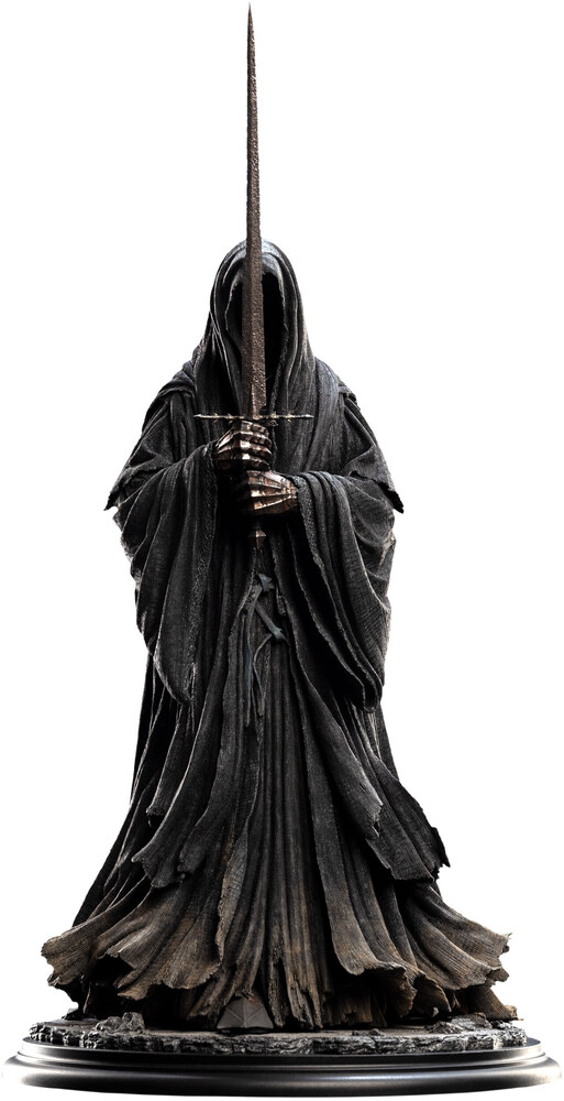 Large Polystone - WETA Workshop Polystone - Lord Of The Rings - LOTR 20th Anniversary Classic Series - Ringwraith Of Mordor (1:6 Scale Statue)