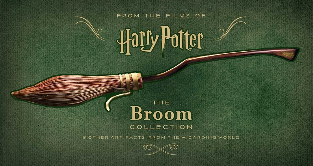 - Harry Potter: The Broom Collection: & Other Props from the WizardingWorld