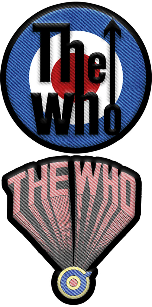 The Who 2 PC Patch Set - The Who 2 Pc Patch Set
