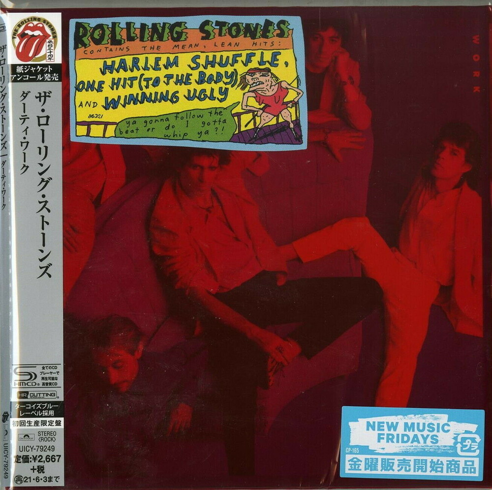The Rolling Stones - Dirty Work (SHM-CD) (Paper Sleeve) [Import]