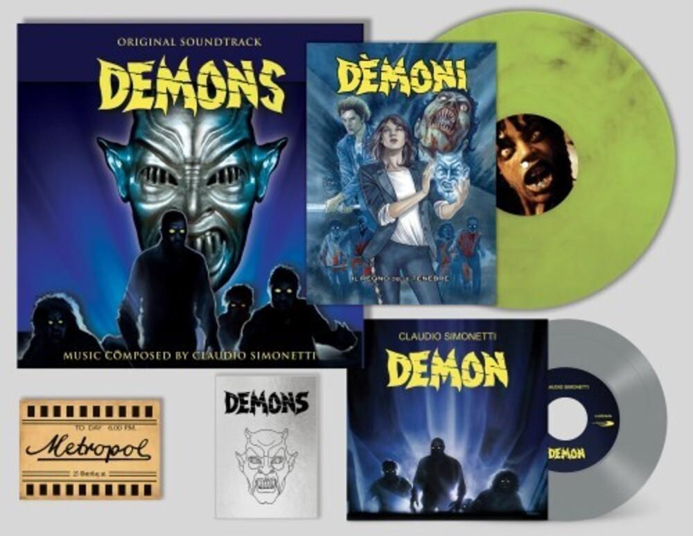 Simonetti, Claudio / Goblin - Demons: 35th Anniversary (Original Soundtracl) [Deluxe Gatefold Boxset]