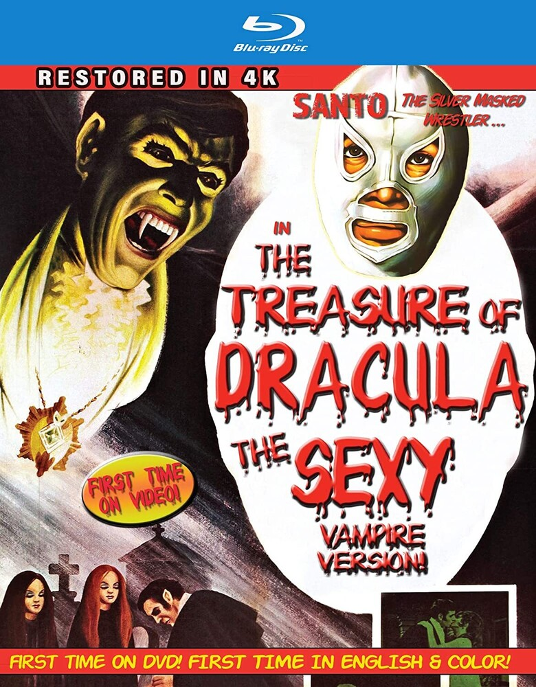 Santo in the Treasure of Dracula: The Sexy Vampire - Santo In The Treasure Of Dracula: The Sexy Vampire
