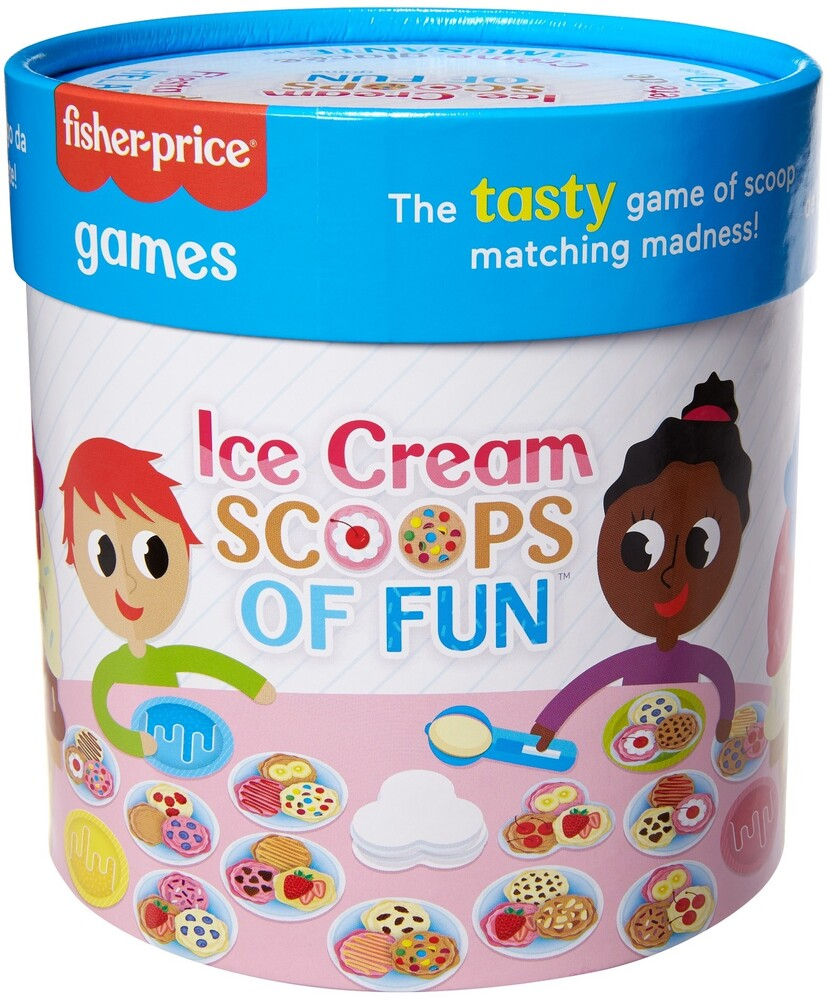 Games - Mattel Games - Fisher Price Ice Cream Scoops Of Fun