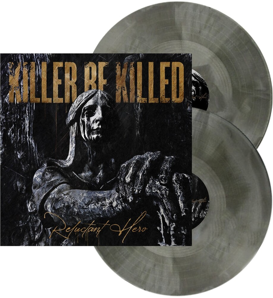 Killer Be Killed - Reluctant Hero (Silver & Black Swirl)