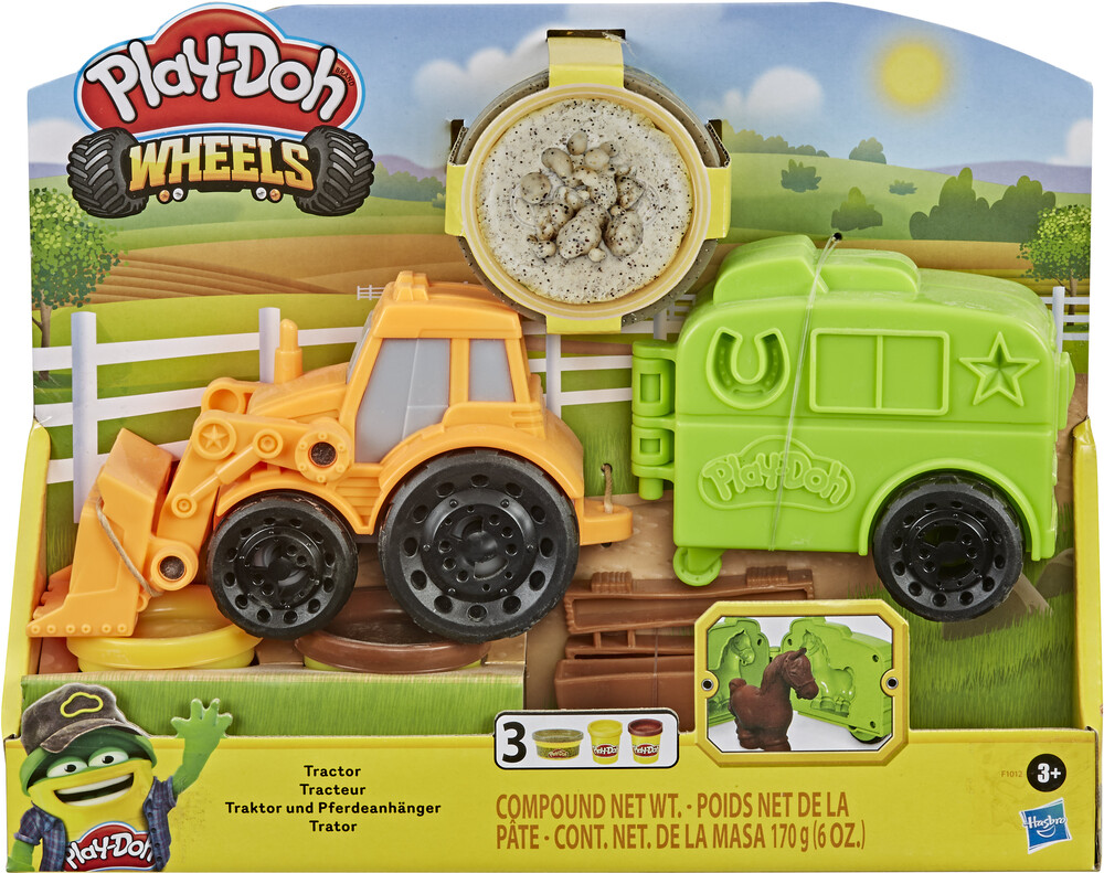 Pd Tractor - Hasbro Collectibles - Play-Doh Tractor