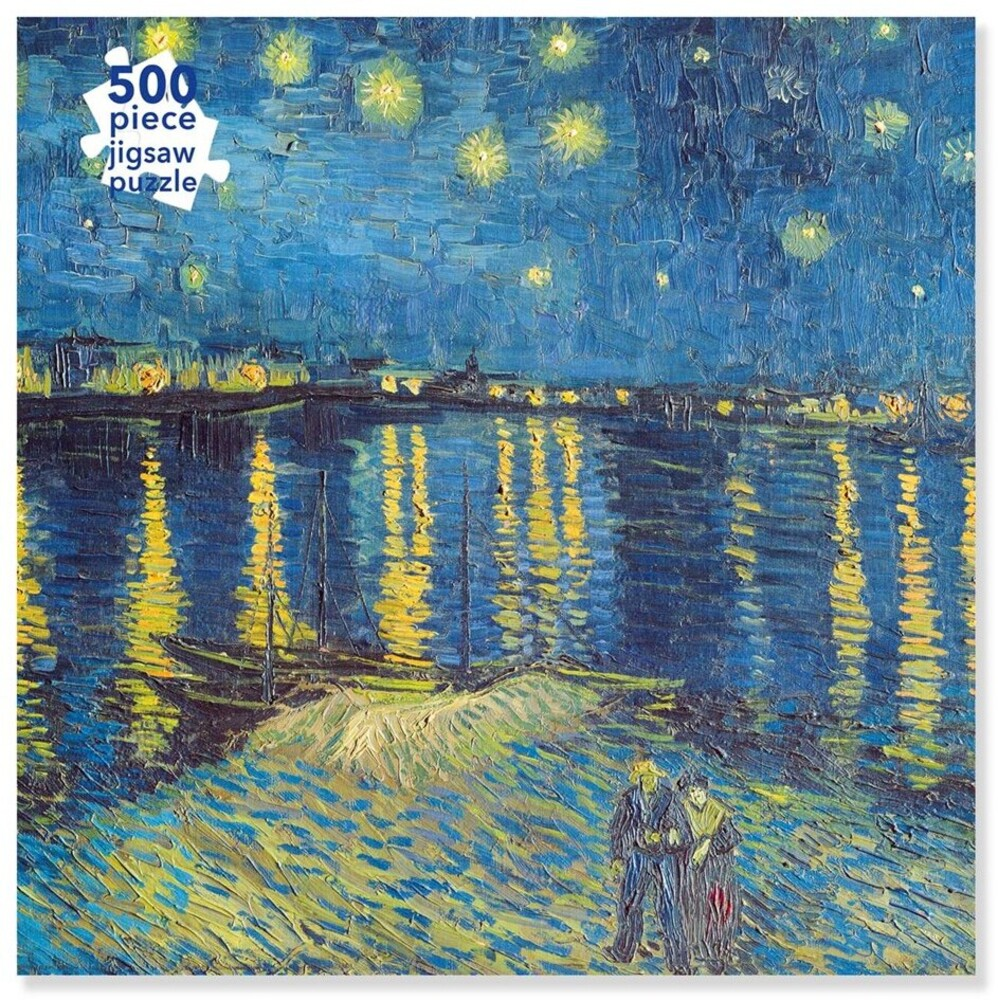 Flame Tree Studio - Adult Jigsaw Puzzle Van Gogh: Starry Night over the Rhone: 500-pieceJigsaw Puzzle