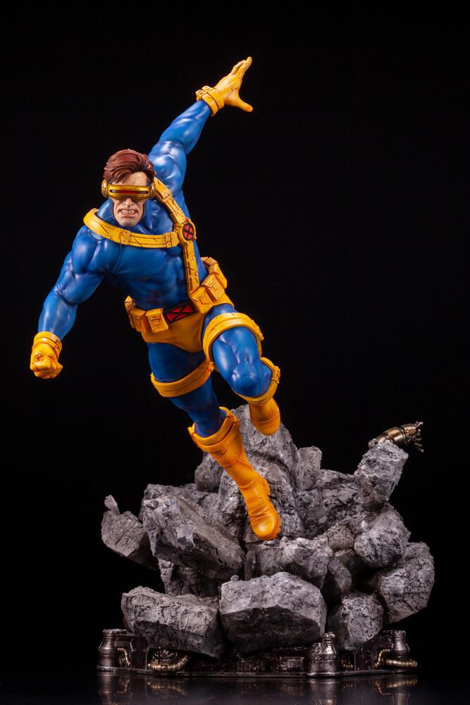 Marvel Universe - Cyclops X-Men Fine Art Statue - Kotobukiya - Marvel Universe - Cyclops X-Men Fine Art Statue