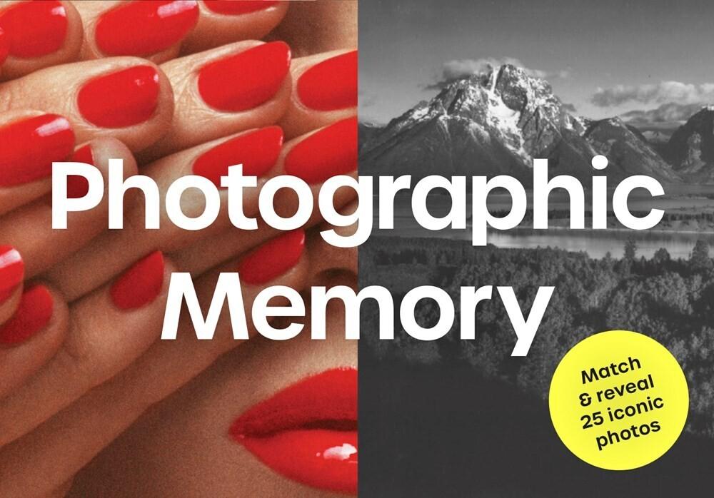 - Photographic Memory: Match & reveal 25 iconic photos