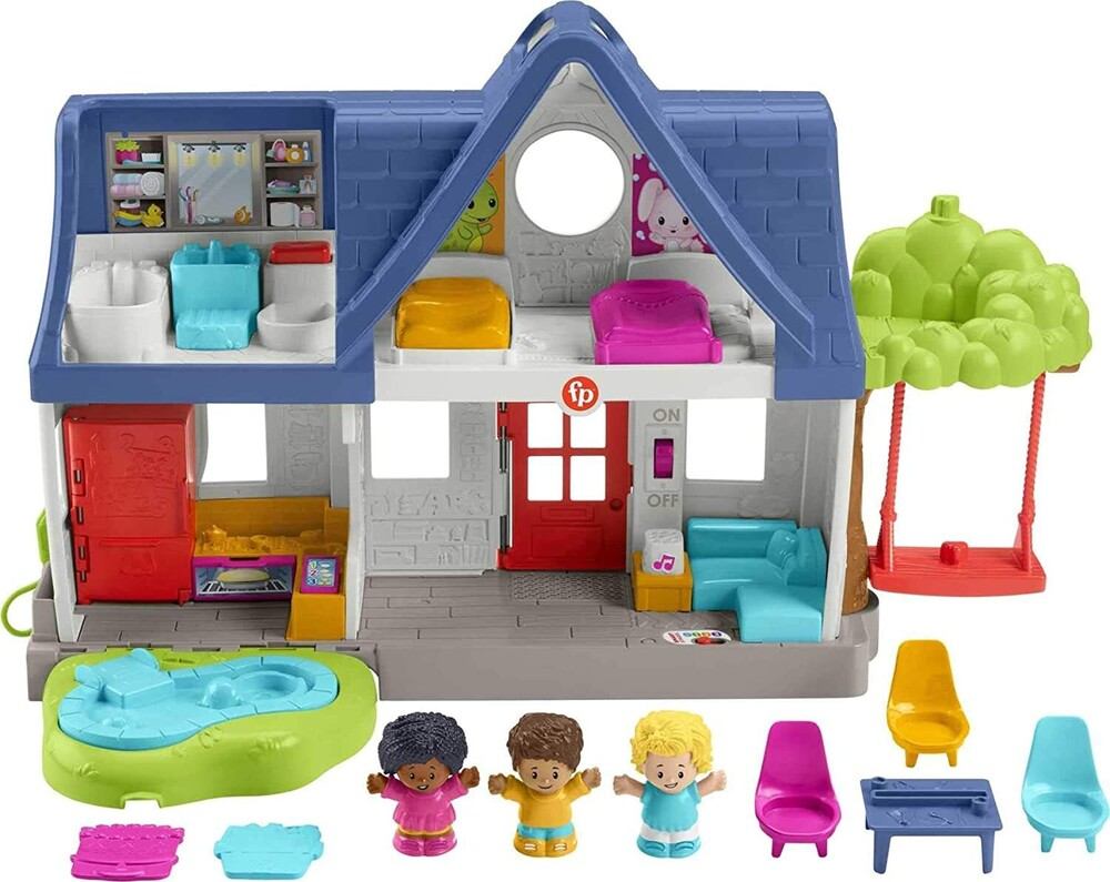 Little People - Fisher Price - Little People Friends Together Play House