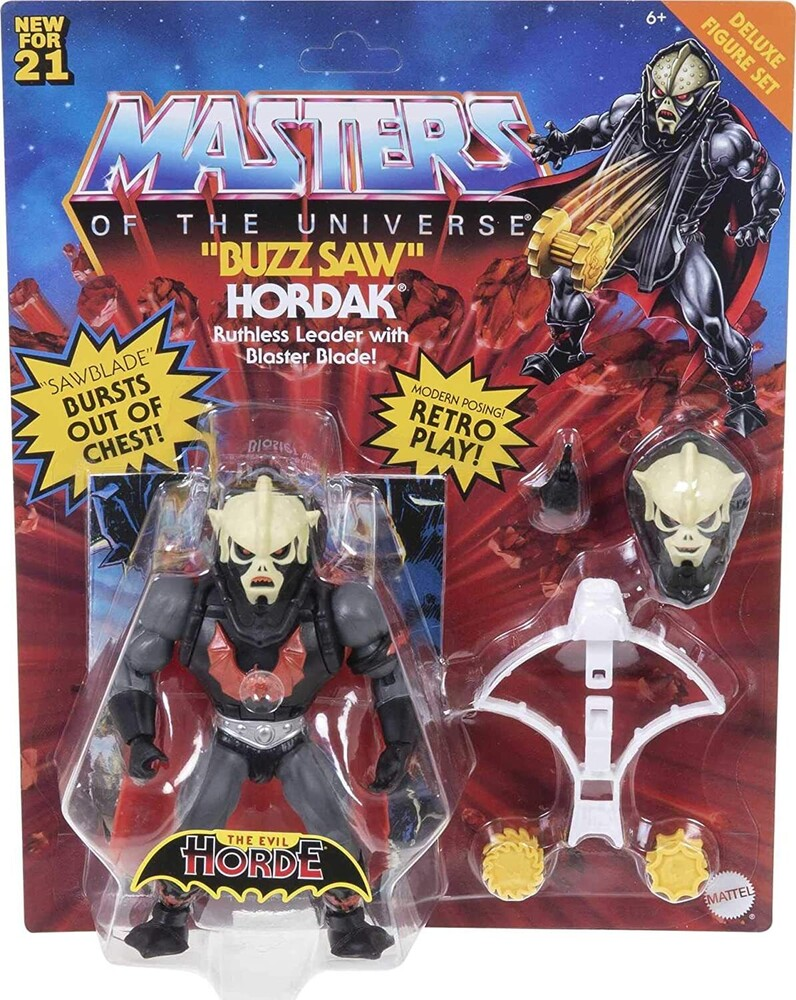 Masters Of The Universe - Mattel Collectible - Masters of the Universe Origins Deluxe Hordak (He-Man, MOTU)