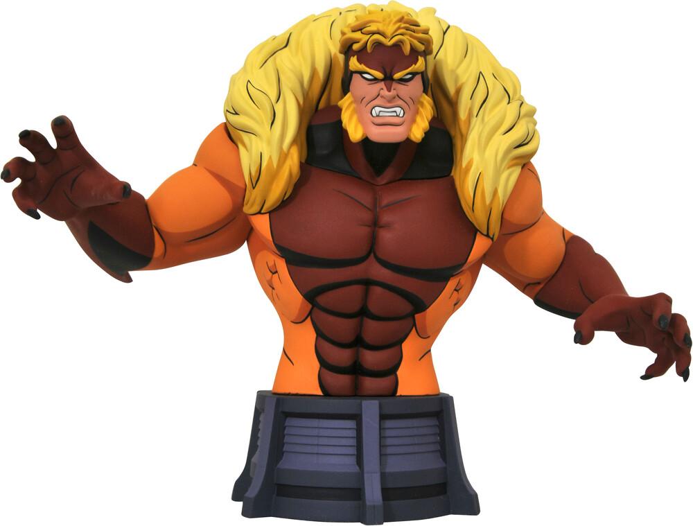 - Marvel Animated X-Men Sabretooth Bust (Clcb)