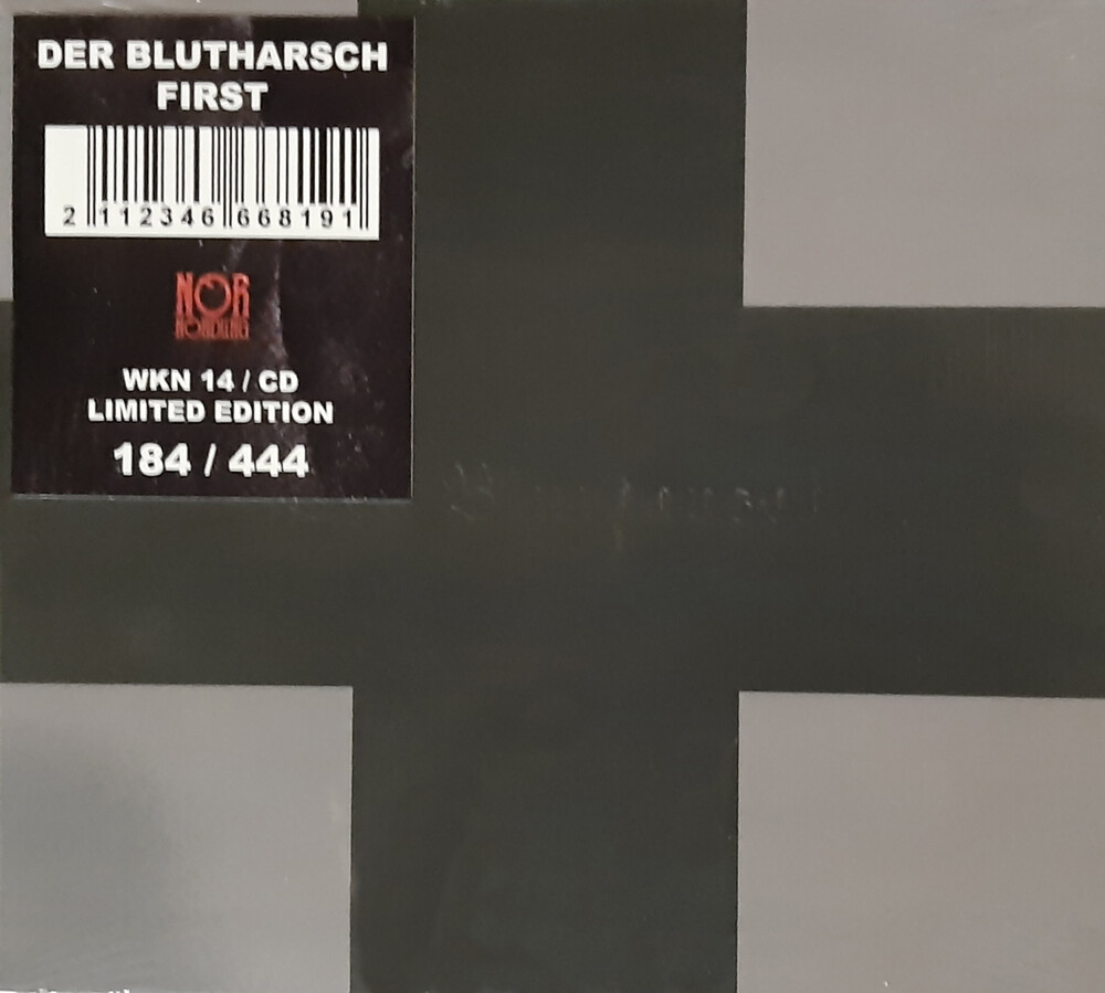 Der Blutharsch - First [Deluxe] [Limited Edition] [Digipak] [Reissue]