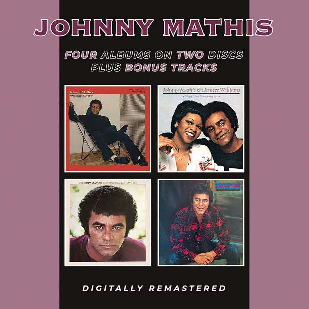 Johnny Mathis - You Light Up My Life / That's What Friends Are For
