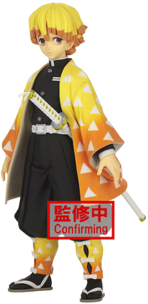 - Demon Slayer Zenitsu Agatsuma Grandista Figure