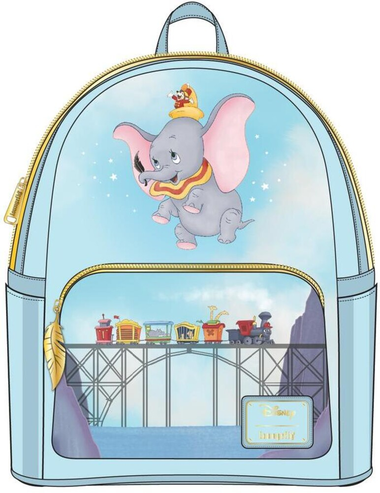 Loungefly Disney: - Dumbo 80th Anniversary Dont Just Fly Mini Backpack