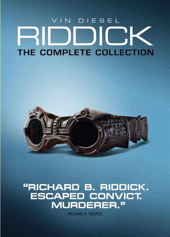 - Riddick: The Complete Collection (3pc) / (3pk)