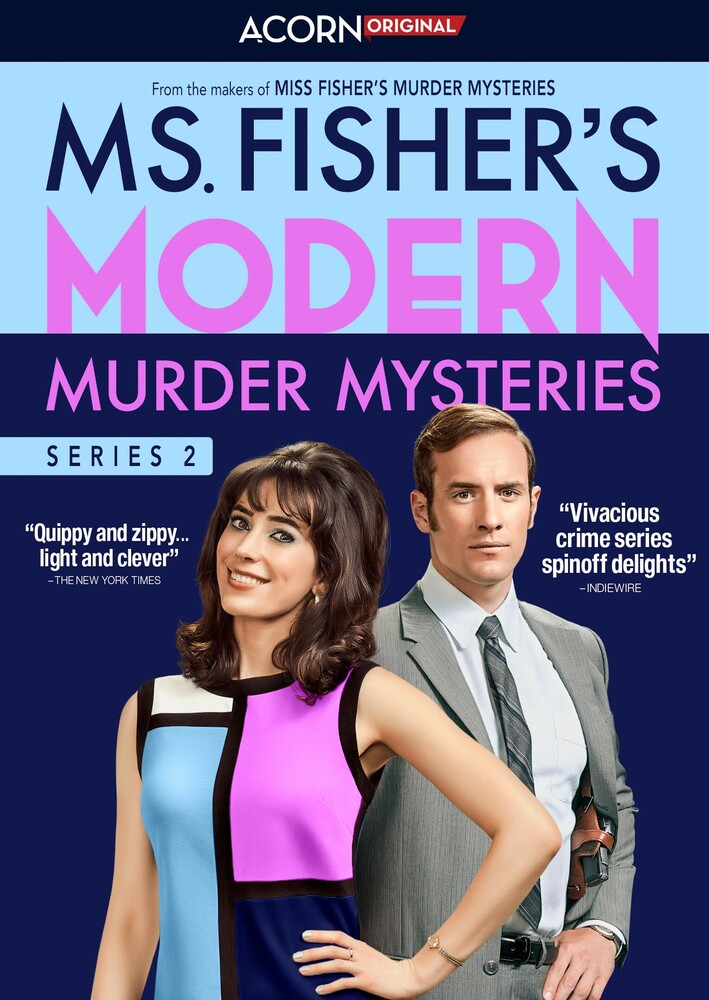 Ms Fisher's Modern Murder Mysteries Series 2 DVD - Ms Fisher's Modern Murder Mysteries Series 2 Dvd