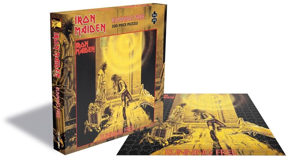 Iron Maiden Running Free (500 Piece Jigsaw Puzzle) - Iron Maiden Running Free (500 Piece Jigsaw Puzzle)