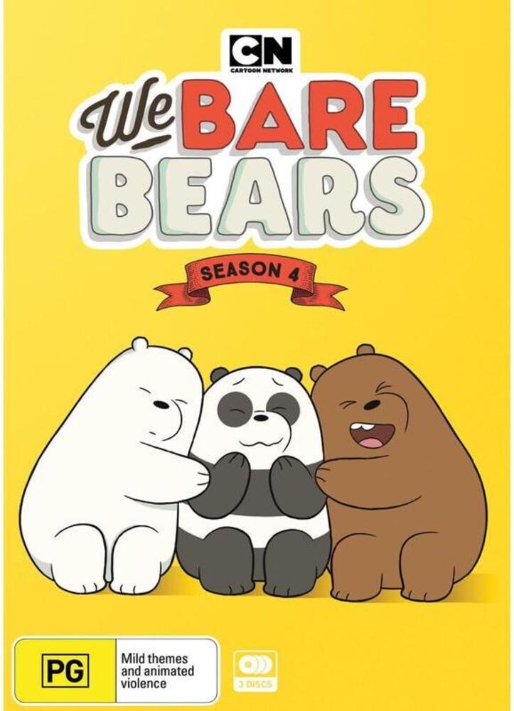 We Bare Bears: Season 4 - We Bare Bears: Season 4 (3pc) / (Aus Ntr0)