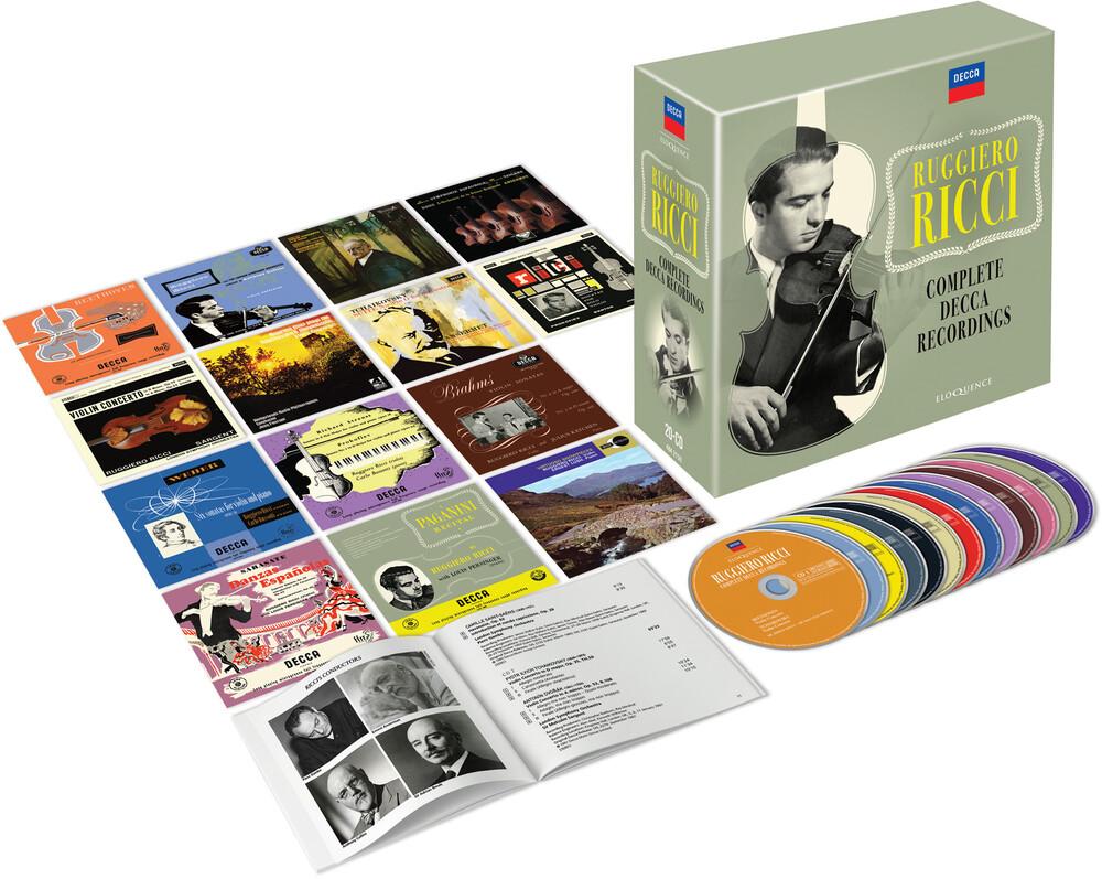 RUGGIERO RICCI - Complete Decca Recordings (Box) (Aus)