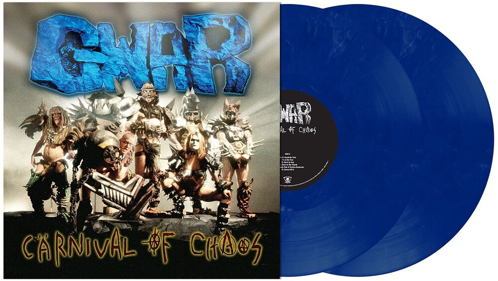 GWAR - Carnival Of Chaos [Limited Edition Dark Blue with Light Blue Marbling LP]