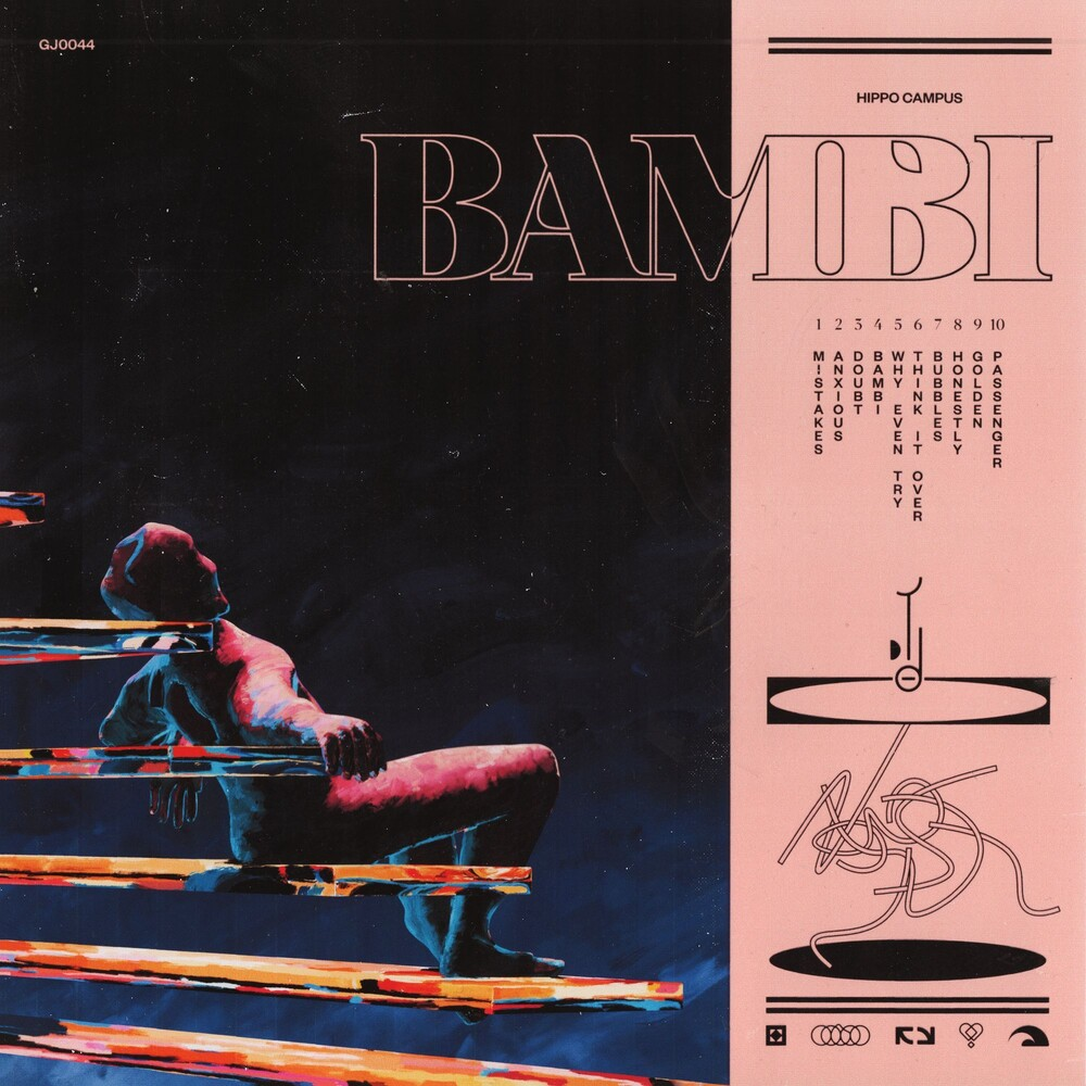 Hippo Campus - Bambi [Indie Exclusive Limited Edition Coral LP]
